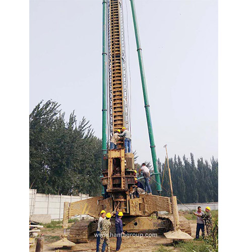 HFZL40 Long Screw Piling Machine