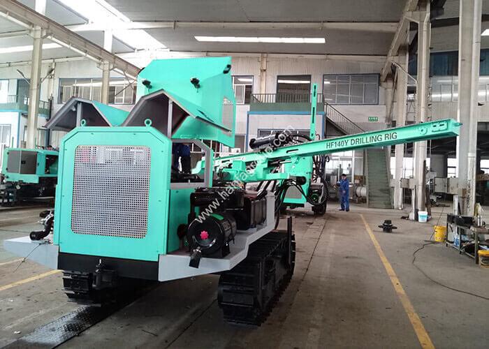 HF140Y DTH drilling rig