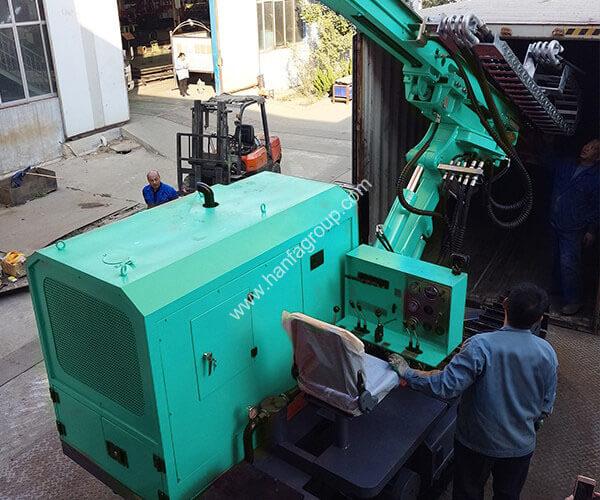 HFPV-1A Solar Pile Driver