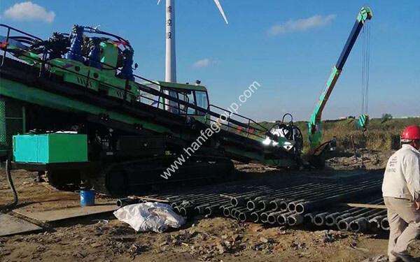 Full Hydraulic Directional Drilling Rig