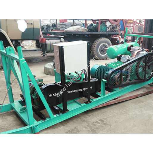 HFXJ-4 Well Cleanout Equipment with Air Compressor